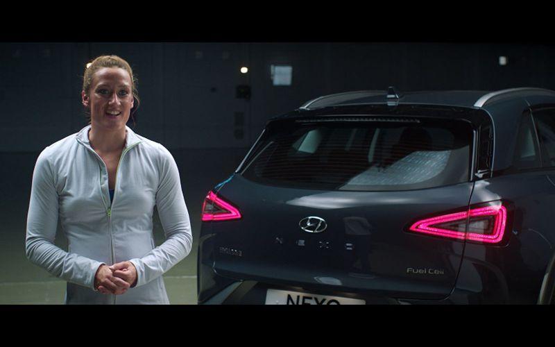 ¿Un coche que purifica el aire al andar? Hyundai lo hace posible con NEXO - nexo-hyundai-mireia-belmonte