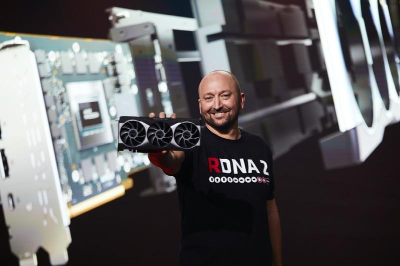 AMD presentó las Tarjetas Gráficas AMD Radeon RX Serie 6000 - scott_herkelman_amd-800x533