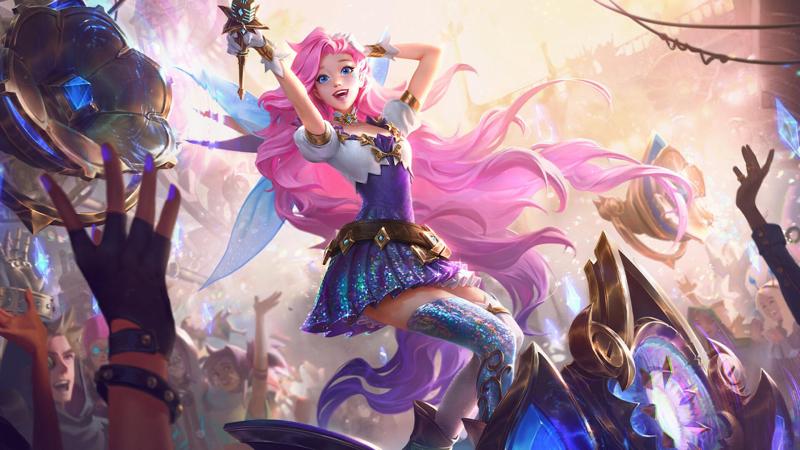 Seraphine, la cantante soñadora es la nueva campeona de League of Legends - seraphine-800x450