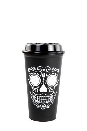 Descubre el nuevo vaso reusable de Starbucks, inspirado en Día de Muertos