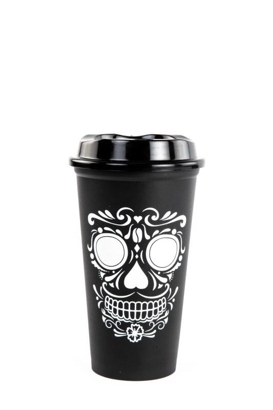 Descubre el nuevo vaso reusable de Starbucks, inspirado en Día de Muertos - vaso-dia-de-muertos-533x800