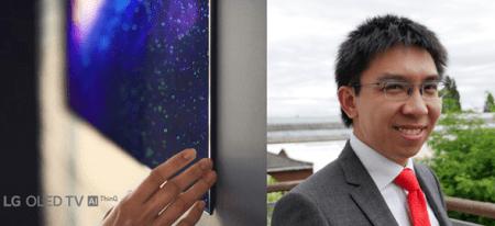 El famoso calibrador Vincent Teoh, explica las razones porque la tecnología OLED es la mejor del mundo