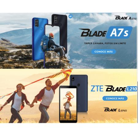 ZTE presenta los nuevos miembros de la familia Blade: A7s y L210