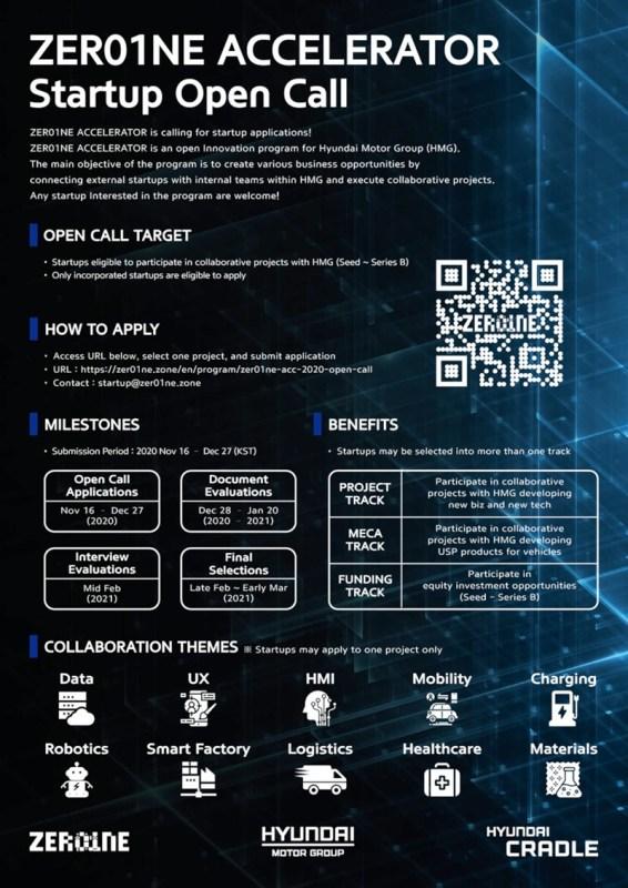 Acelerador ZER01NE 2020, la convocatoria abierta de Hyundai para startups - 2020_zer01ne_accelerator-hyundai-566x800