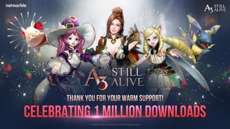 A3: Still Alive llega a 1 millón de descargas en su primera semana