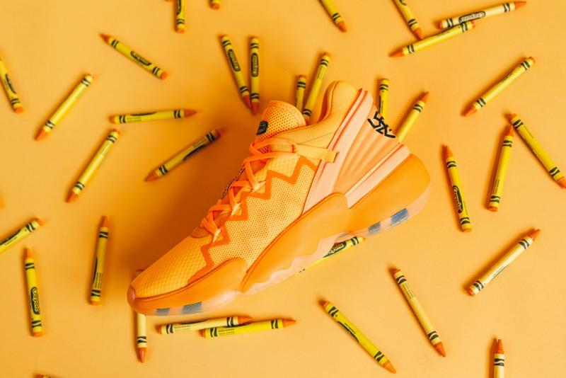 adidas y Donovan Mitchell presentan el D.O.N#2 en colaboración con Crayola - adidas_basketball_crayola_don-crayola-banana-mania