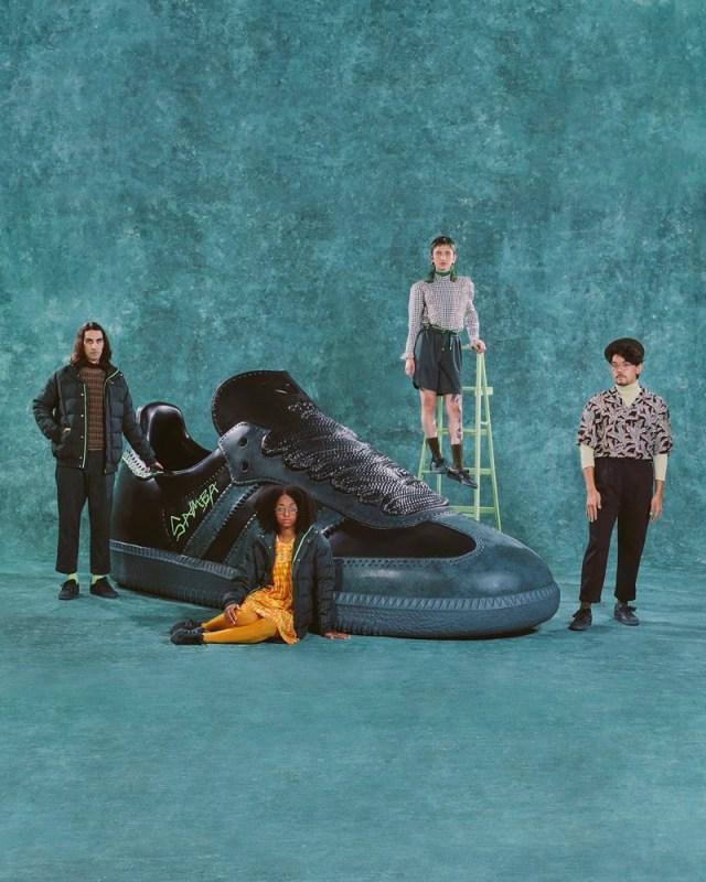 adidas Originals y Jonah Hill presentan el segundo drop de su colaboración - adidas_originals_jonah_hill_jh_x_samba_mineral_green_group-640x800