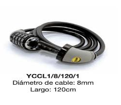 Top 5 de candados para bicicletas de alta calidad - cable-flexible-de-combinacion