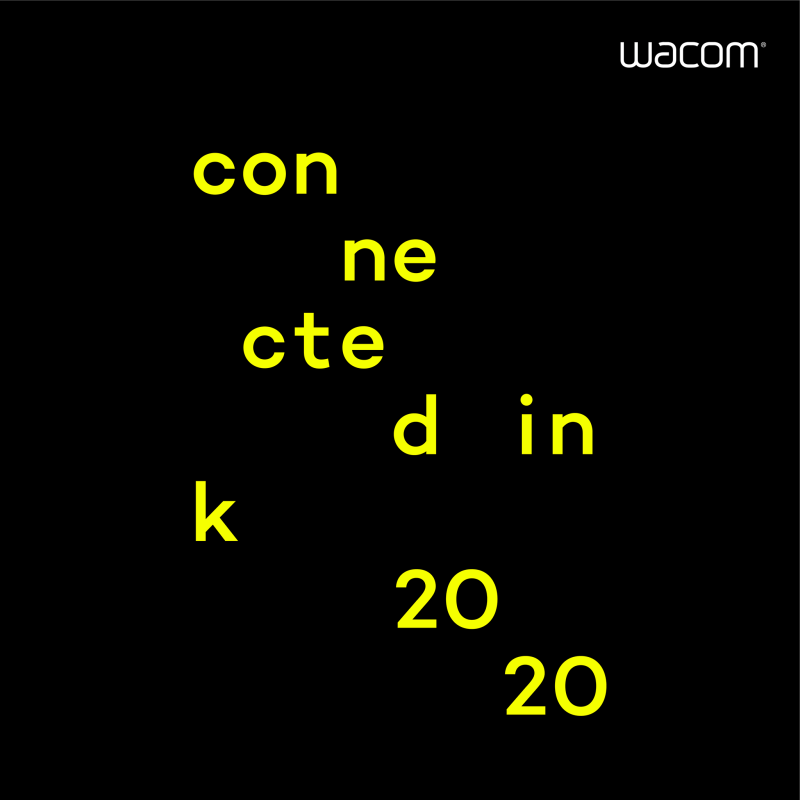 Wacom presenta Connected Ink 2020, un evento global para adoptar la idea del caos creativo - connected-ink-2020-800x800