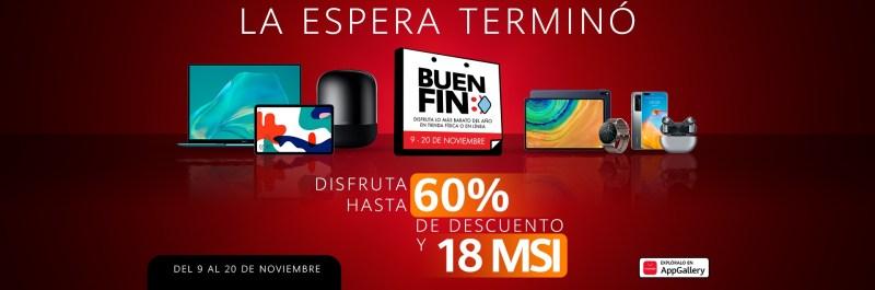 Huawei anuncia sus promociones y ofertas para los últimos días del Buen Fin en México - huawei-buen-fin-2020