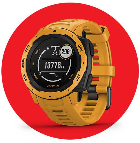 Garmin con descuentos en sus smartwatches en El Buen Fin 2020 - instinct-garmin