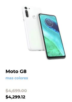 Las promociones de Motorola este Buen Fin 2020 - moto-g8-motorola