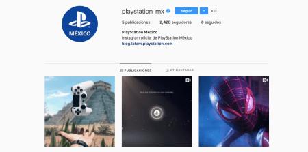 PlayStation México anuncia Instagram oficial