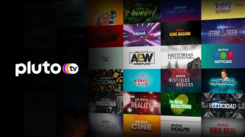 Pluto TV expande su portafolio con una oferta de 70 canales en América Latina - pluto-tv-canales-800x450