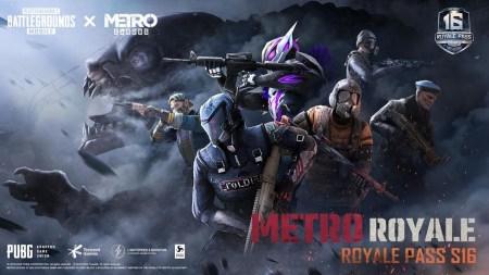 PUBG MOBILE colabora con Metro Exodus en su primer Royale Pass en conjunto para la Temporada 16