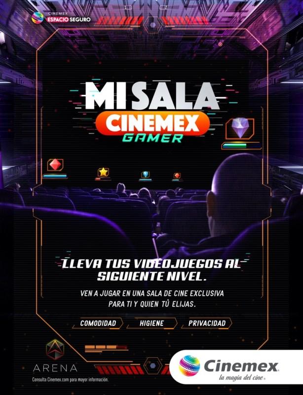 Ahora podrás rentar una sala privada en Cinemex para ver una película, la NFL o jugar videojuegos - sala-privada-cinemex-614x800