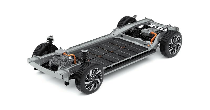 """Hyundai liderará la era eléctrica con la plataforma de carga de vehículos eléctricos """"E-GMP"""" - hyundai_vehiculos_electricos_e-gmp_chassismarriage"""