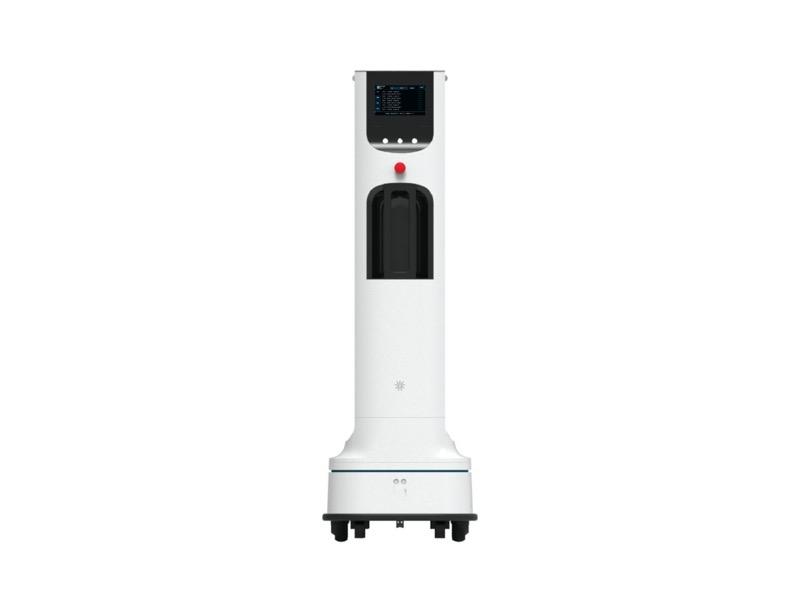 LG anuncia robot autónomo que utilizará luz UV para desinfectar áreas de alto contacto - lg-uv-robot-ultravioletajpg-800x613