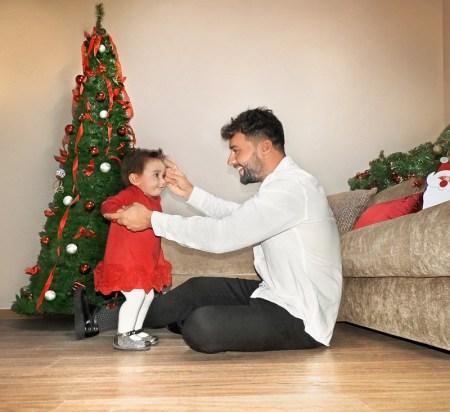 Los colores básicos para bebés y niños en esta temporada navideña