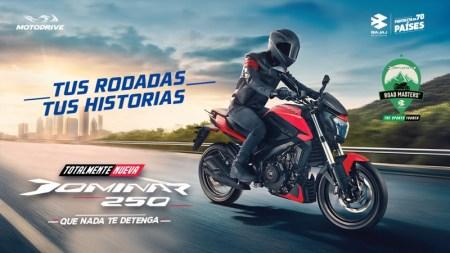 BAJAJ presenta la nueva Dominar 250 ¡convierte tus rodadas en grandes experiencias!