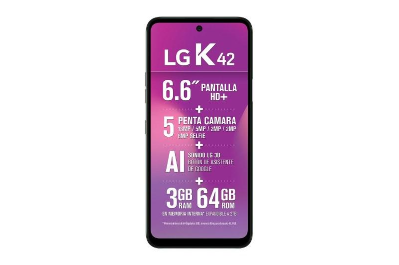 Haz de tu primer smartphone una experiencia única, te decimos como lograrlo - smartphone_lg_k42_pantalla-800x531