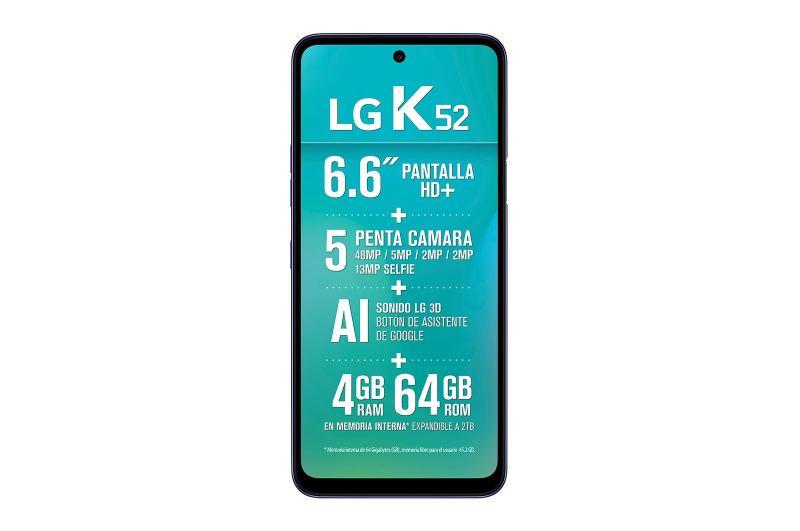 Haz de tu primer smartphone una experiencia única, te decimos como lograrlo - smartphone_lg_k52_pantalla-800x531