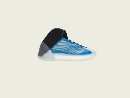 adidas lanzan YEEZY BSKTBL Frozen Blue y YZY QNTM Frozen Blue