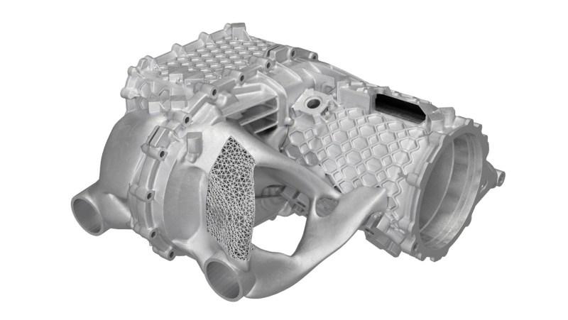 Porsche crea una carcasa de motor eléctrico con una impresora 3D - 1-porsche-carcasa-de-motor-electrico-impresora-3d-800x451