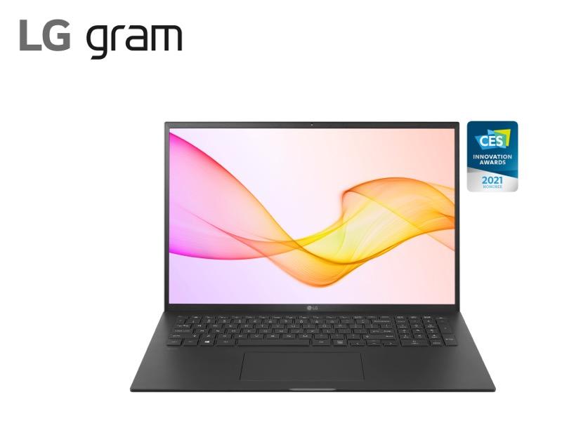 CES 2021: Nueva línea de laptops LG gram son ultraligeras y con rendimiento excepcional - 2021_lg_gram_black-800x613