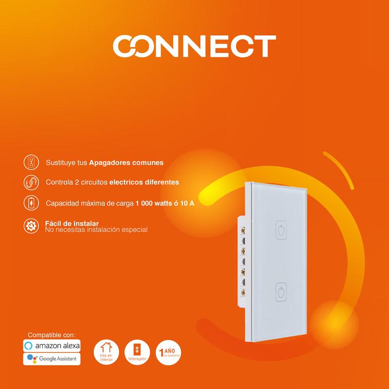 Tu hogar inteligente con Tecnolite Connect ¡conoce sus características! - apagadores-800x800