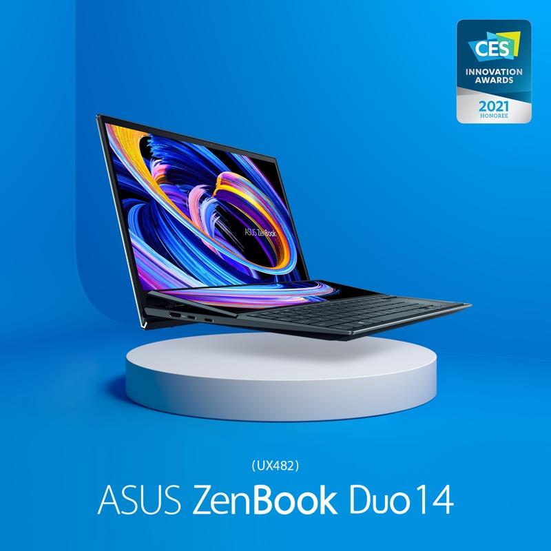 16 productos ASUS y ROG ganan premios a la Innovación en CES 2021 - asus-zenbook-duo-14-ux482-800x800