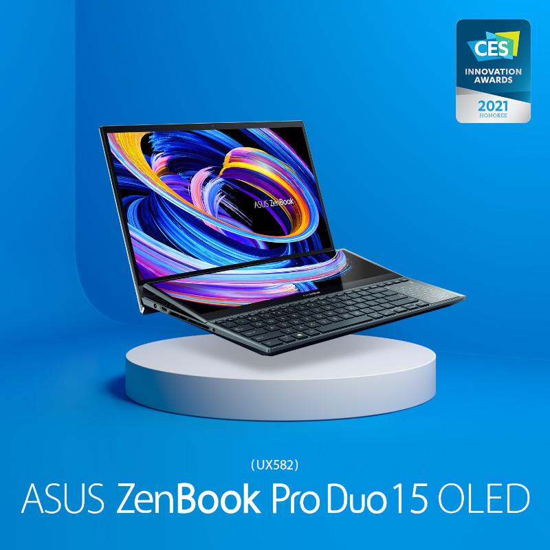 16 productos ASUS y ROG ganan premios a la Innovación en CES 2021 - asus-zenbook-pro-duo-15-oled-ux582-laptop-800x800