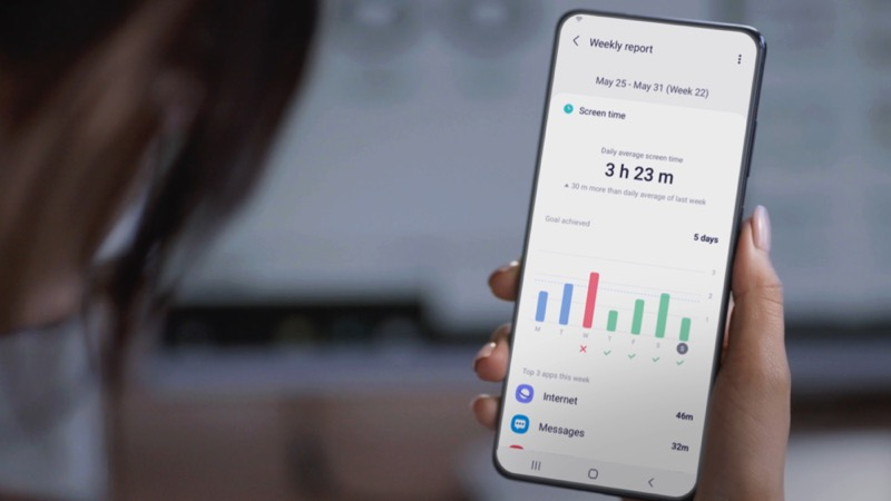 Samsung presenta sus últimas innovaciones en CES 2021 - ces2021-dl4-digital-well-being