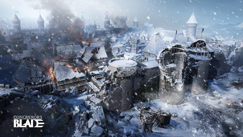 Reivindica el Norte en Ventisca: Azote del Invierno, la nueva actualización gratuita de Conqueror's Blade - conquerors-blade-1