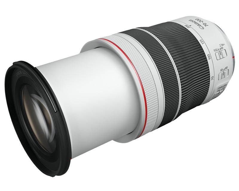 Lentes mirrorles de Canon, que harán que las fotos y los videos pasen al siguiente nivel - lente-canon-mirrorless-hr-rf70-200mm-f4-5