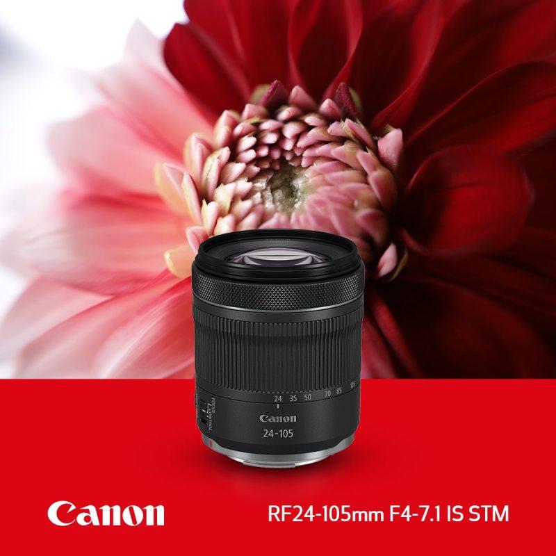 Lentes mirrorles de Canon, que harán que las fotos y los videos pasen al siguiente nivel - lente-rf-24-105-mm-stm-canon-800x800