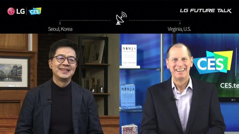 """""""LG Future Talk"""" donde líderes tecnológicos hablan sobre el valor de la innovación abierta - lg-future-talk-2021"""