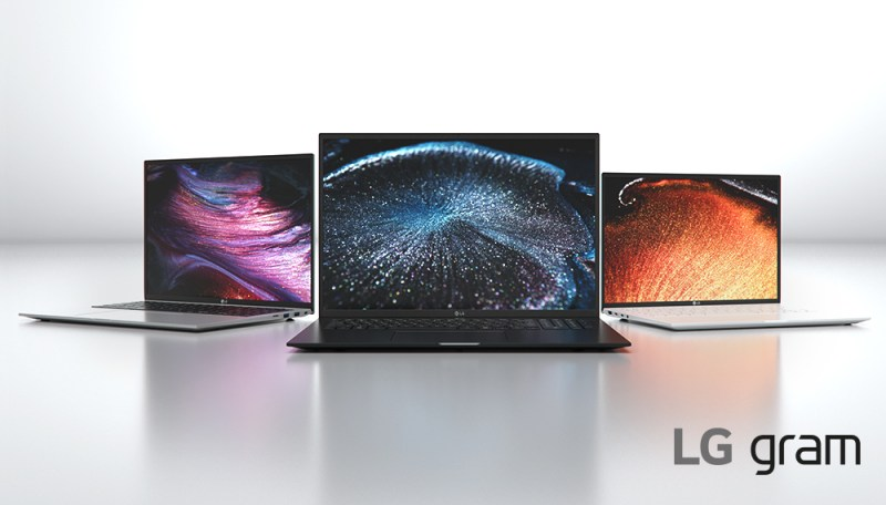 CES 2021: Nueva línea de laptops LG gram son ultraligeras  y con rendimiento excepcional - lg_gram-800x456