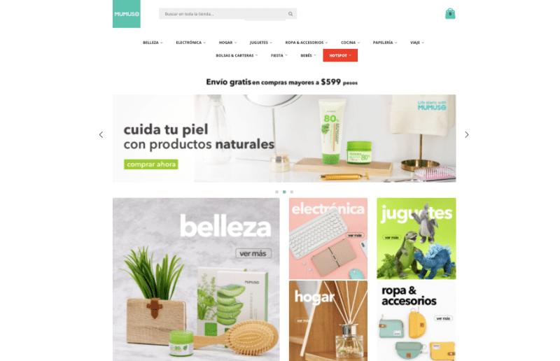 MUMUSO estrena tienda en línea - pagina-web-mumuso-800x516