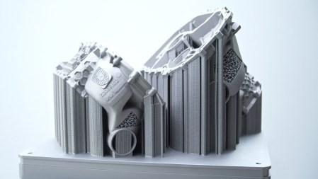 Porsche crea una carcasa de motor eléctrico con una impresora 3D