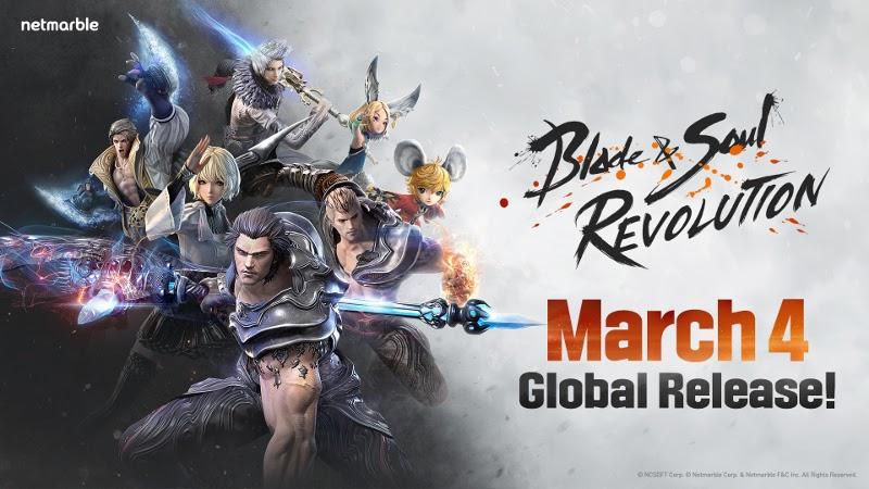 Blade & Soul Revolution llegará a dispositivos móviles el 4 de marzo - blade-soul-revolution
