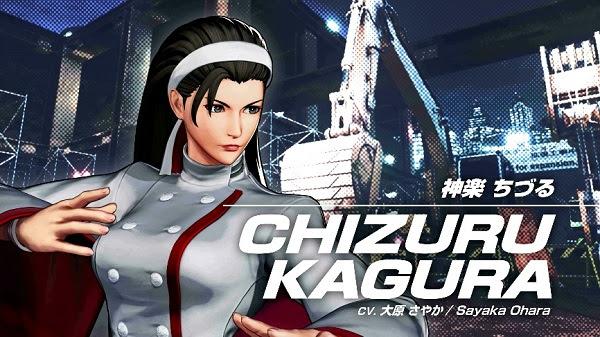 SNK revela un nuevo personaje de KOF XV y más sobre la season pass 3 de Samurai Shodown - chizuru-kagura