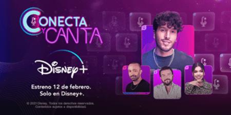Conecta y Canta llega en exclusiva para Disney plus el 12 de febrero