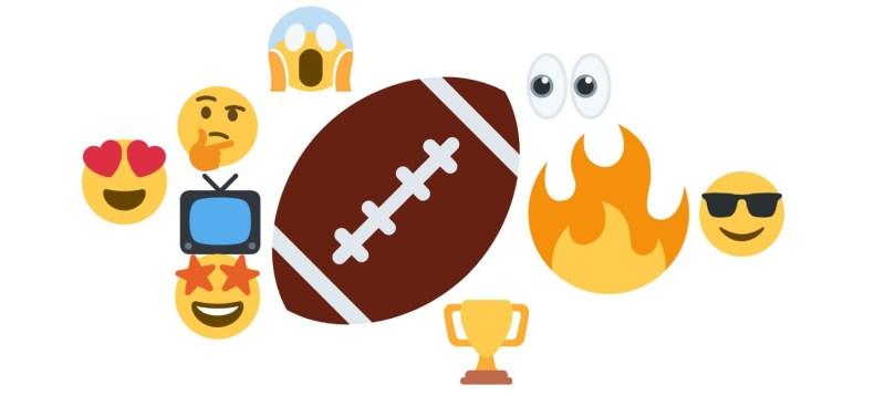 Super Bowl LV: ¿Qué está sucediendo en redes sociales en México y el mundo? - emoticones-mas-utilizados-para-referirse-super-bowl-mexico-800x358
