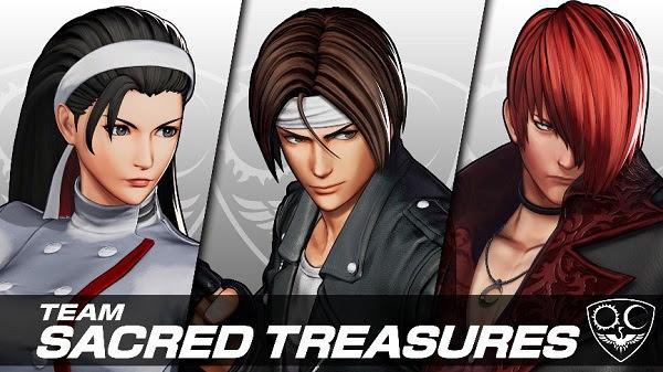 SNK revela un nuevo personaje de KOF XV y más sobre la season pass 3 de Samurai Shodown - equipo-sacred-treasures