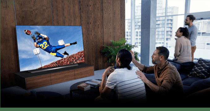 Disfruta cada touchdown con la mejor calidad de imagen: LG OLED TV - lg-oled-tv
