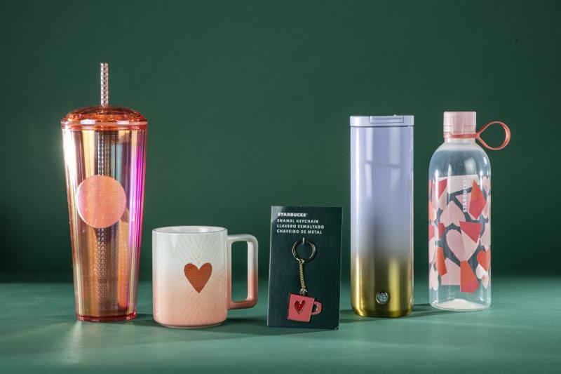Ideas para celebra San Valentín, al estilo Starbucks - productos-starbucks-san-valentin