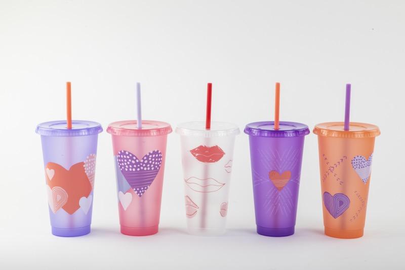 Ideas para celebra San Valentín, al estilo Starbucks - set-de-vasos-san-valentin