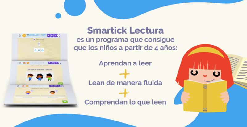 Smartick Lectura: nuevo programa para aprender a leer y mejorar la fluidez y comprensión lectora - smartick-lectura-1-800x413