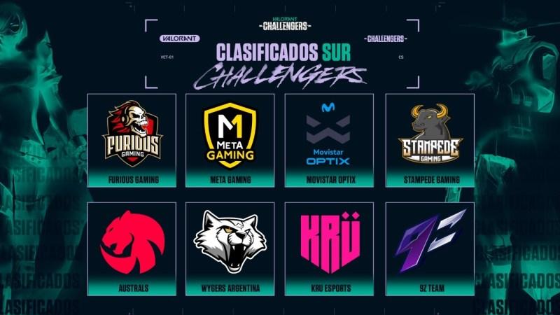 Los mejores equipos de VALORANT en Latinoamérica se enfrentan esta semana - valorant-challengers-2-sur-800x450